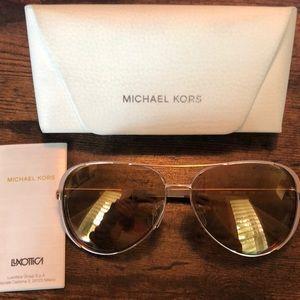 Michael Kors Rose Aviator Sunglasses